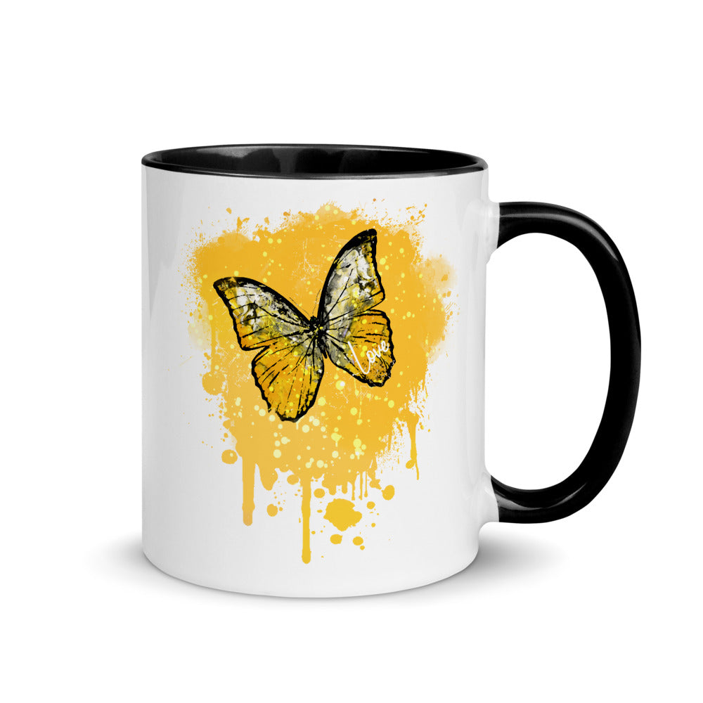 Golden Butterfly  - Mug