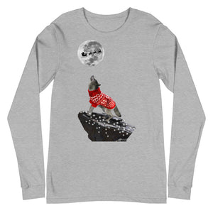 Howling Wolf Clear Lights - Unisex Long Sleeve Tee
