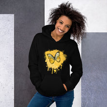 Load image into Gallery viewer, Butterfly Golden - Unisex Hoodie