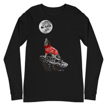 Load image into Gallery viewer, Howling Wolf Clear Lights - Unisex Long Sleeve Tee