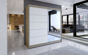 Copy of Sliding Wardrobe With Mirror (180 CM) 399.00 Klik ponudba