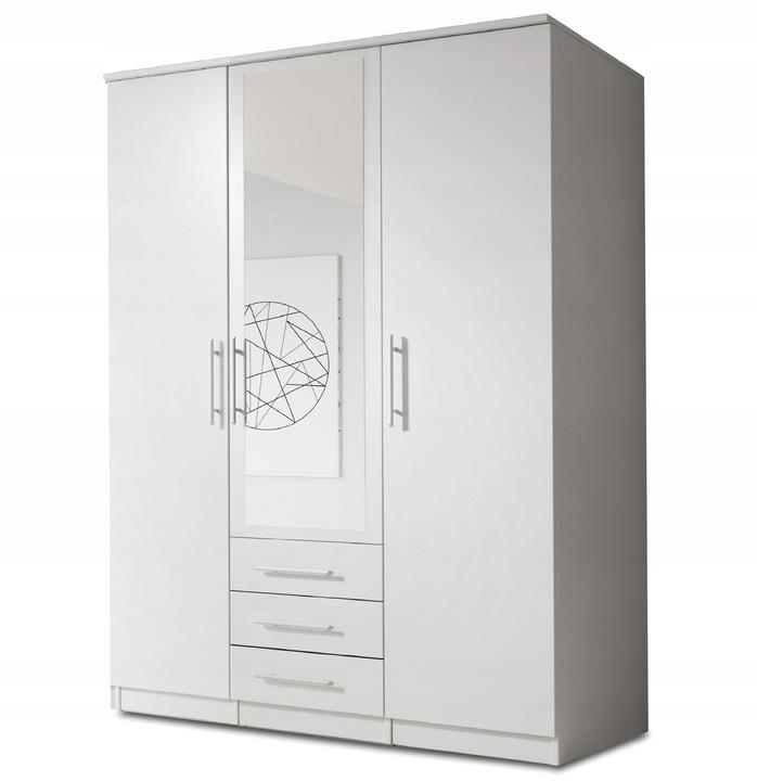 2 Doors Wardrobe With Mirror LATNASZ-III