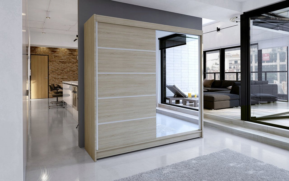 Sliding Wardrobe With Mirror 399.00 Klik ponudba