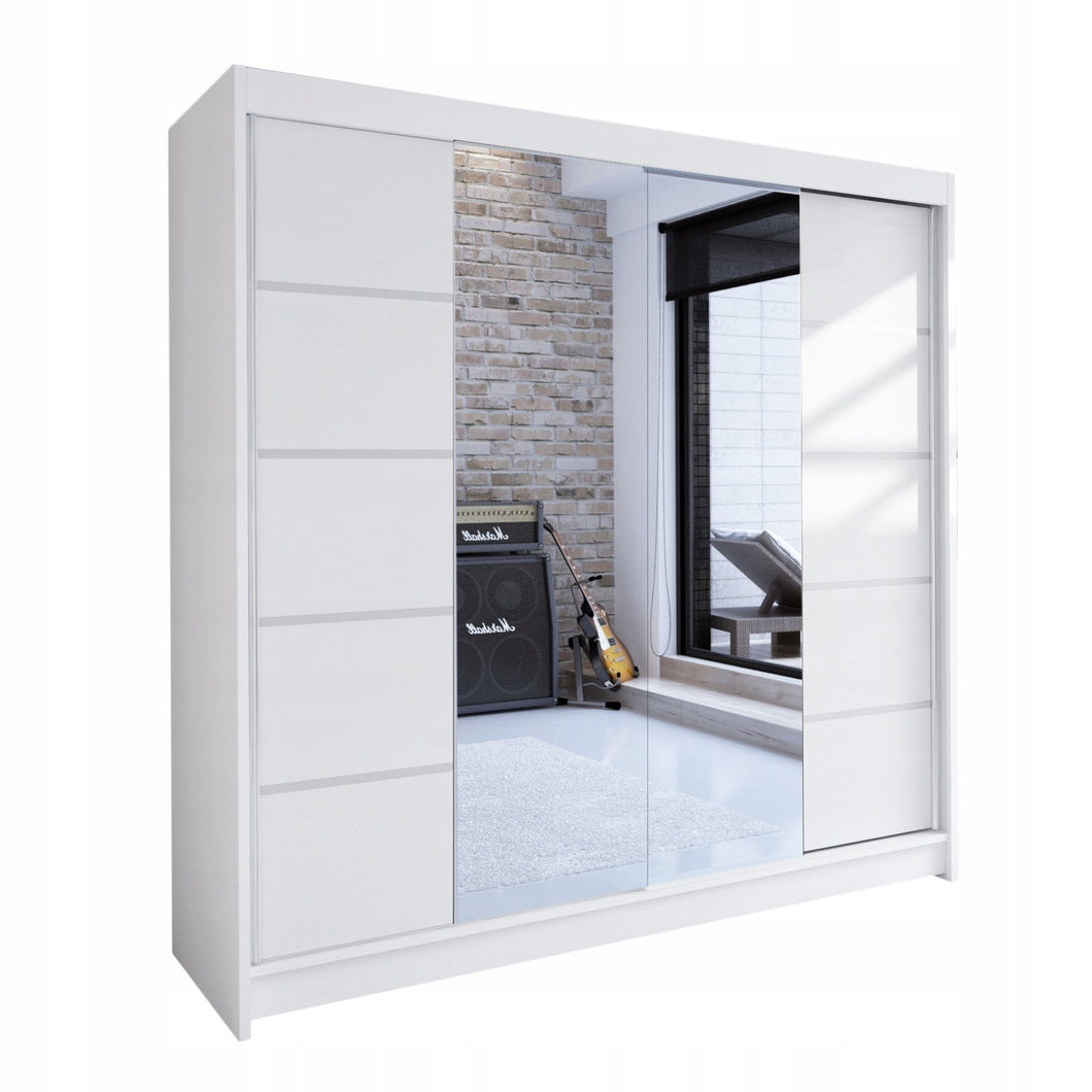 Sliding Wardrobe With Mirror NILAT (180 CM) 419.00 Klik ponudba