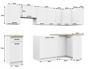 Kitchen Furniture Set (3.0M) (AIWILO)