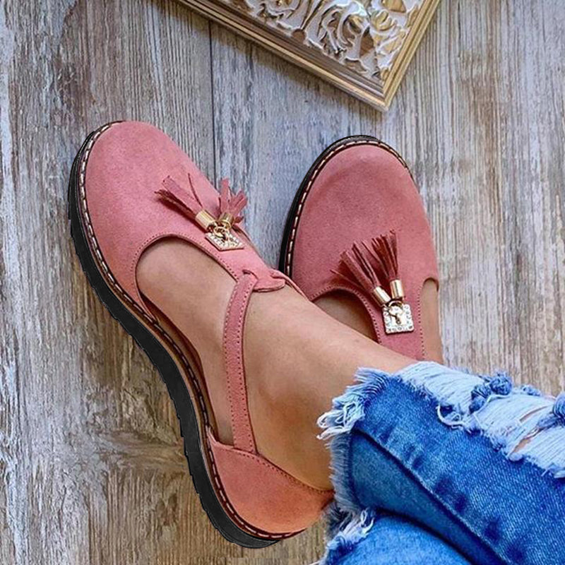 Women's Tassel Comfortable  Mary Jane Sandals