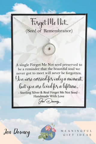 Forget Me Not Miscarriage Quote