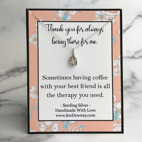 friendship gift coffee and best friend is all the therapy you need