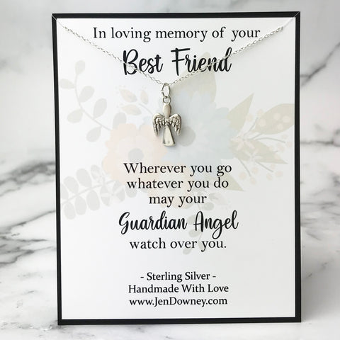 best friend sympathy gift condolence quote