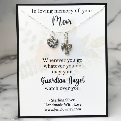 In loving memory of your mom Wherever you go whatever you do may your Guardian Angel watch over you