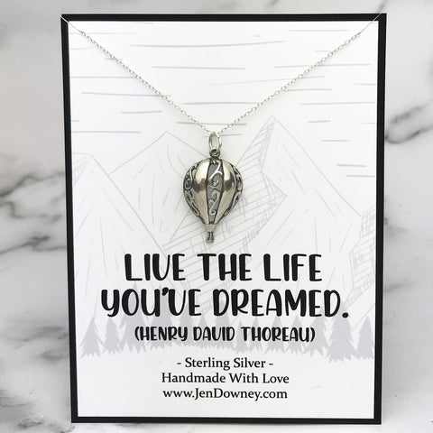 Live The Life You've Dreamed Quote