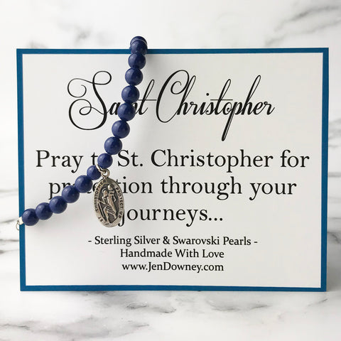 saint Christopher patron saint of travel