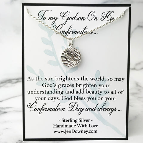 godson confirmation poem gift idea