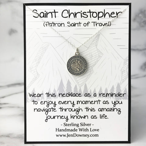 Saint Christopher Gift Idea Meaning of St Christopher