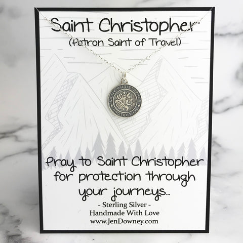 Saint Christopher meaning quote