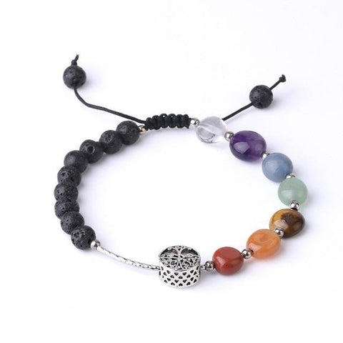 Bracelet Arbre de Vie Simple Volcanique