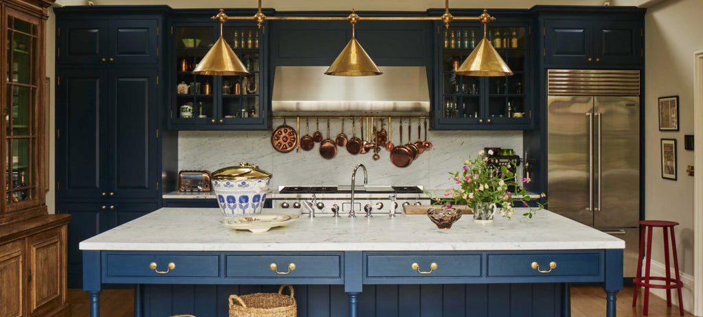 Inspiring Spaces: Blue Kitchens
