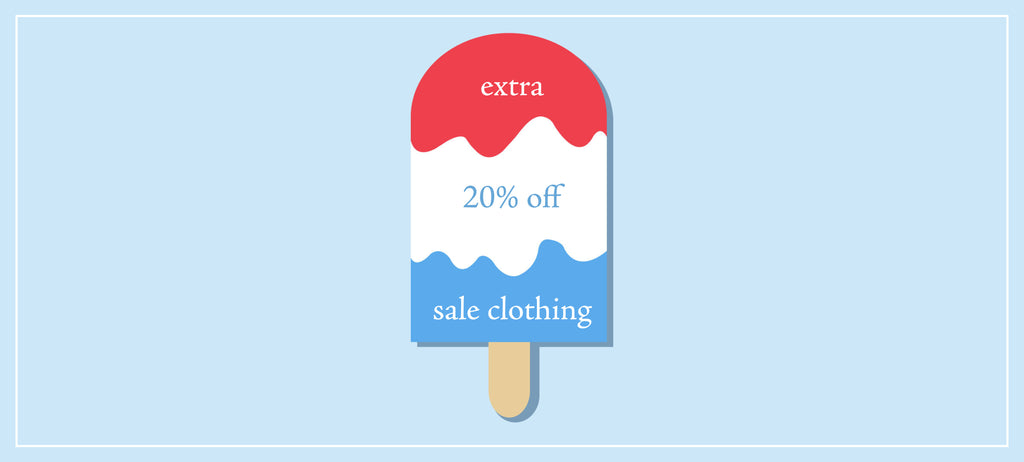 4th of July Clothing Sale!