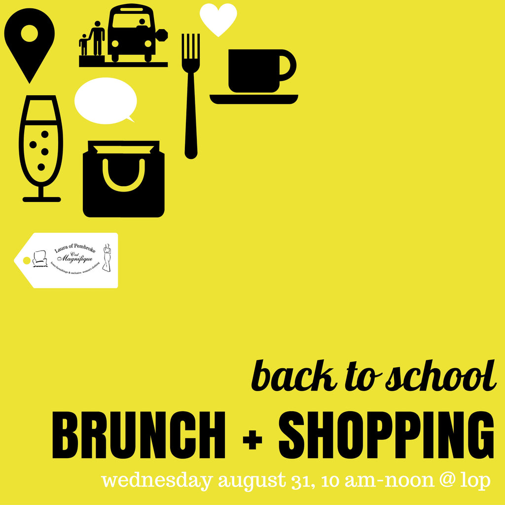 Back to School Brunch + Shopping!