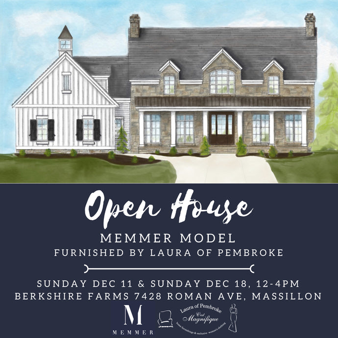 Memmer Homes and Laura of Pembroke Collaboration