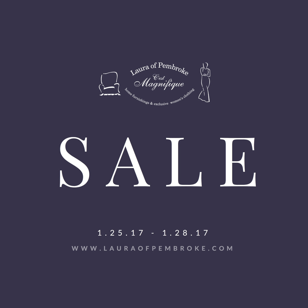 Winter Home + Lighting Sale