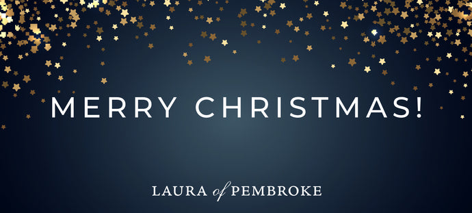 Merry Christmas from Laura of Pembroke!