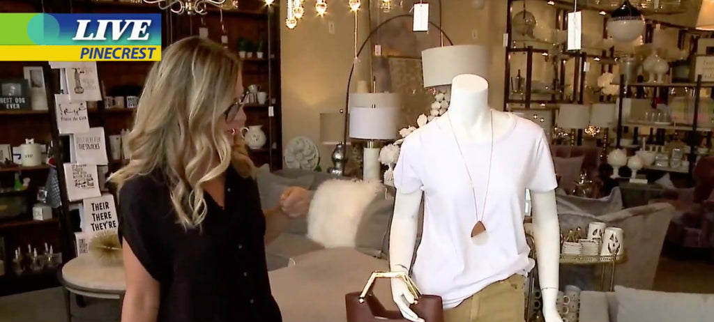 Laura of Pembroke on New Day Cleveland Featuring Fall Style + Home Trends