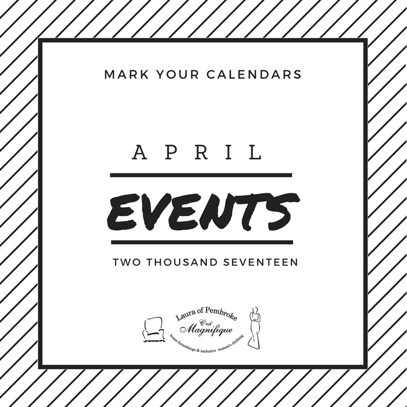 April 2017 Events