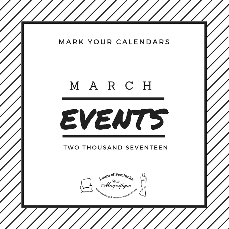 March 2017 Events