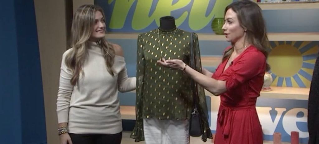 Laura of Pembroke on New Day Cleveland: Fabulous Fall Fashion
