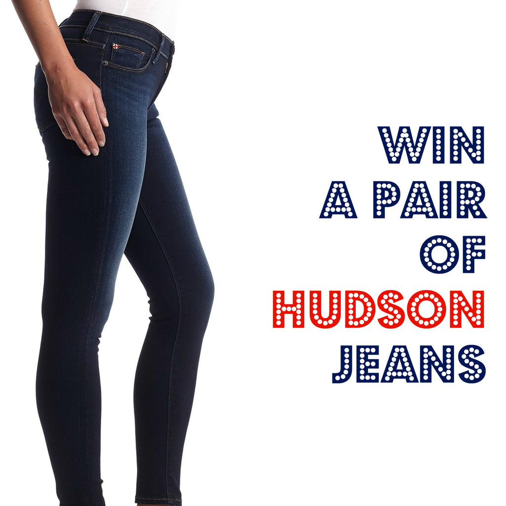 WIN A PAIR OF HUDSON JEANS!