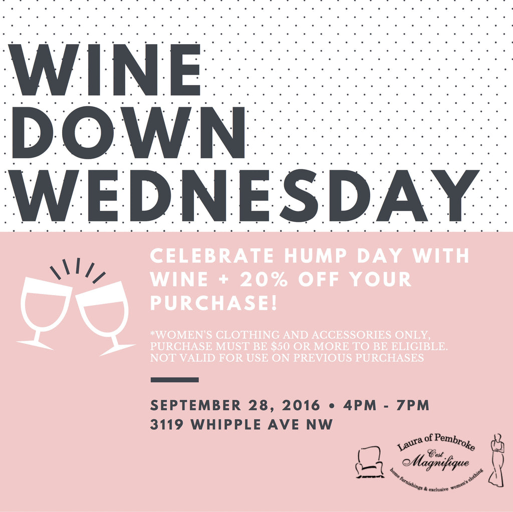 Wine Down Wednesday Event!