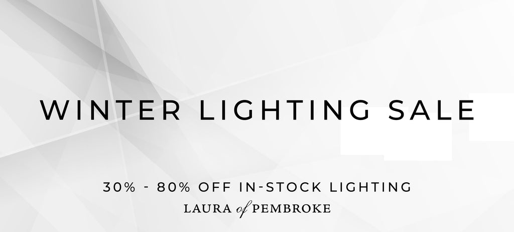 WINTER LIGHTING SALE