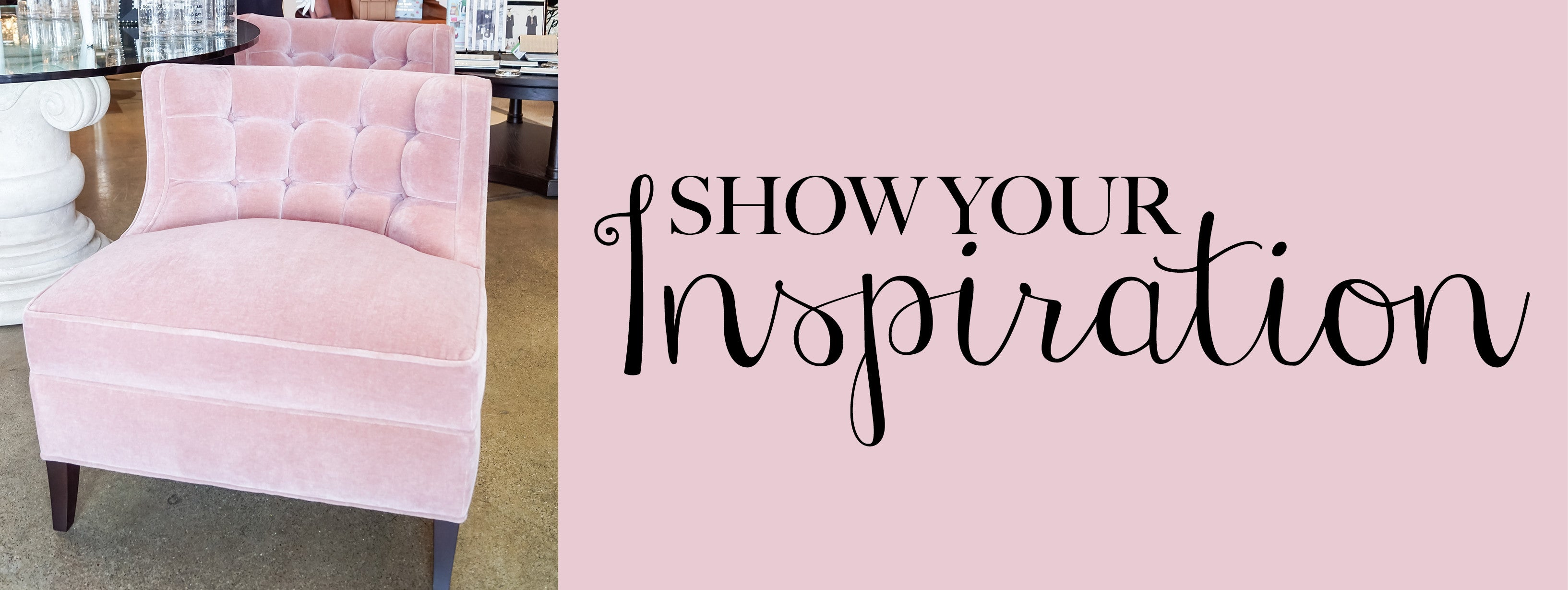 Show your inspiration