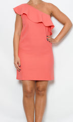 coral ruffle dress laura of pembroke party season is here