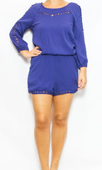 royal blue romper laura of pembroke spring ans summer style trends