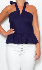 nicole miller top with peplum laura of pembroke spring and summer style trends