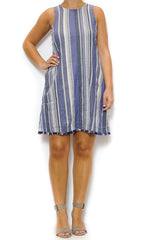 striped fringe dress laura of pembroke spring and summer trends