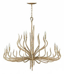 gold chandelier laura of pembroke lux lighting