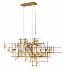 contemporary luxe chandelier laura of pembroke