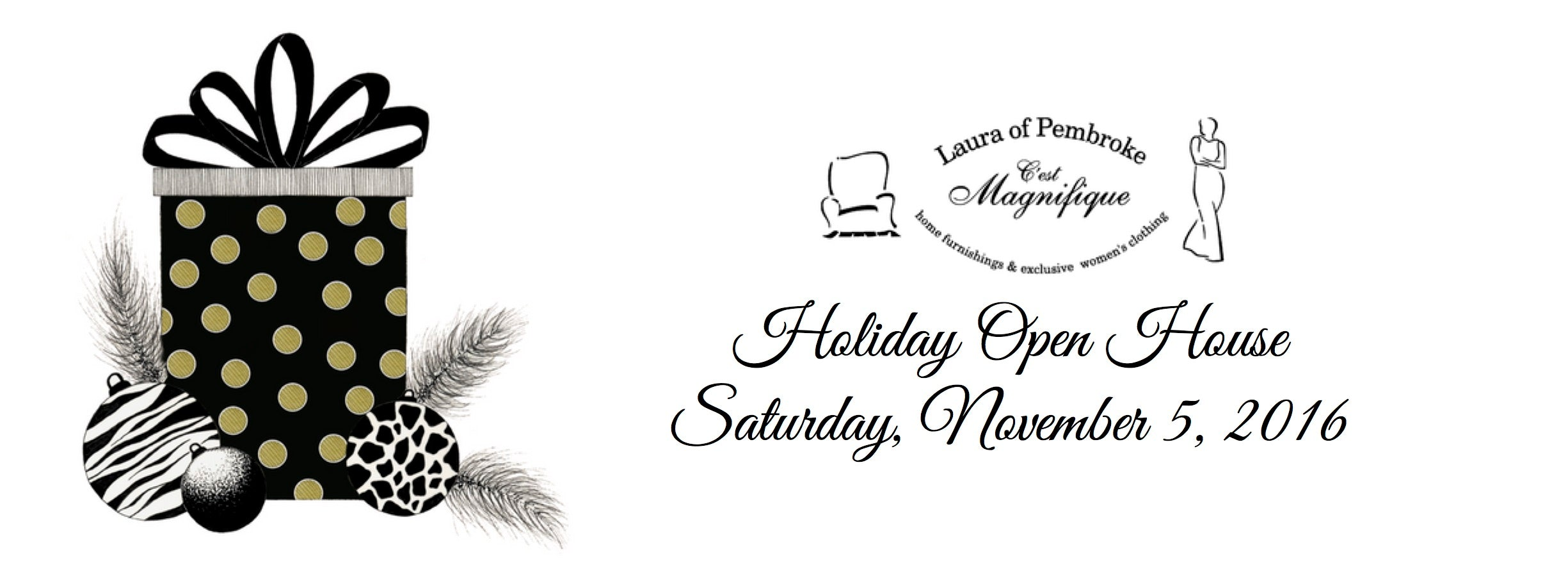 Laura of Pembroke Holiday Open House Event