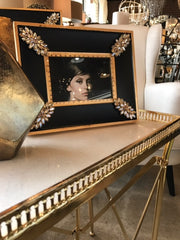 black and gold frames laura of pembroke decorating with gold