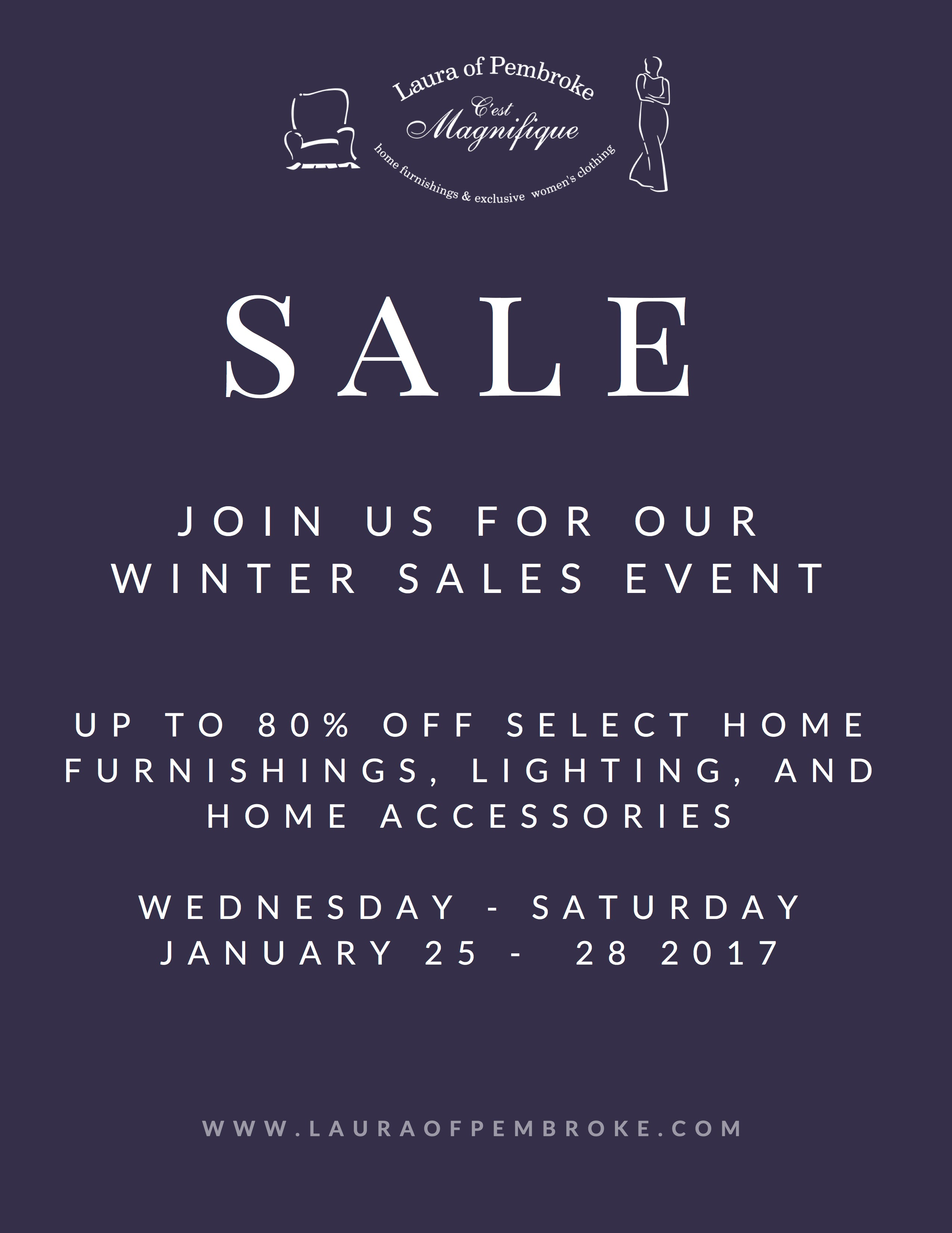 Winter Home + Lighting Sale 2017