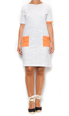 orange pocket dress laura of pembroke spring and summer style trends