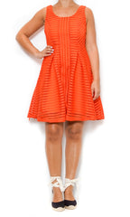 orange dress laura of pembroke spring and style trends