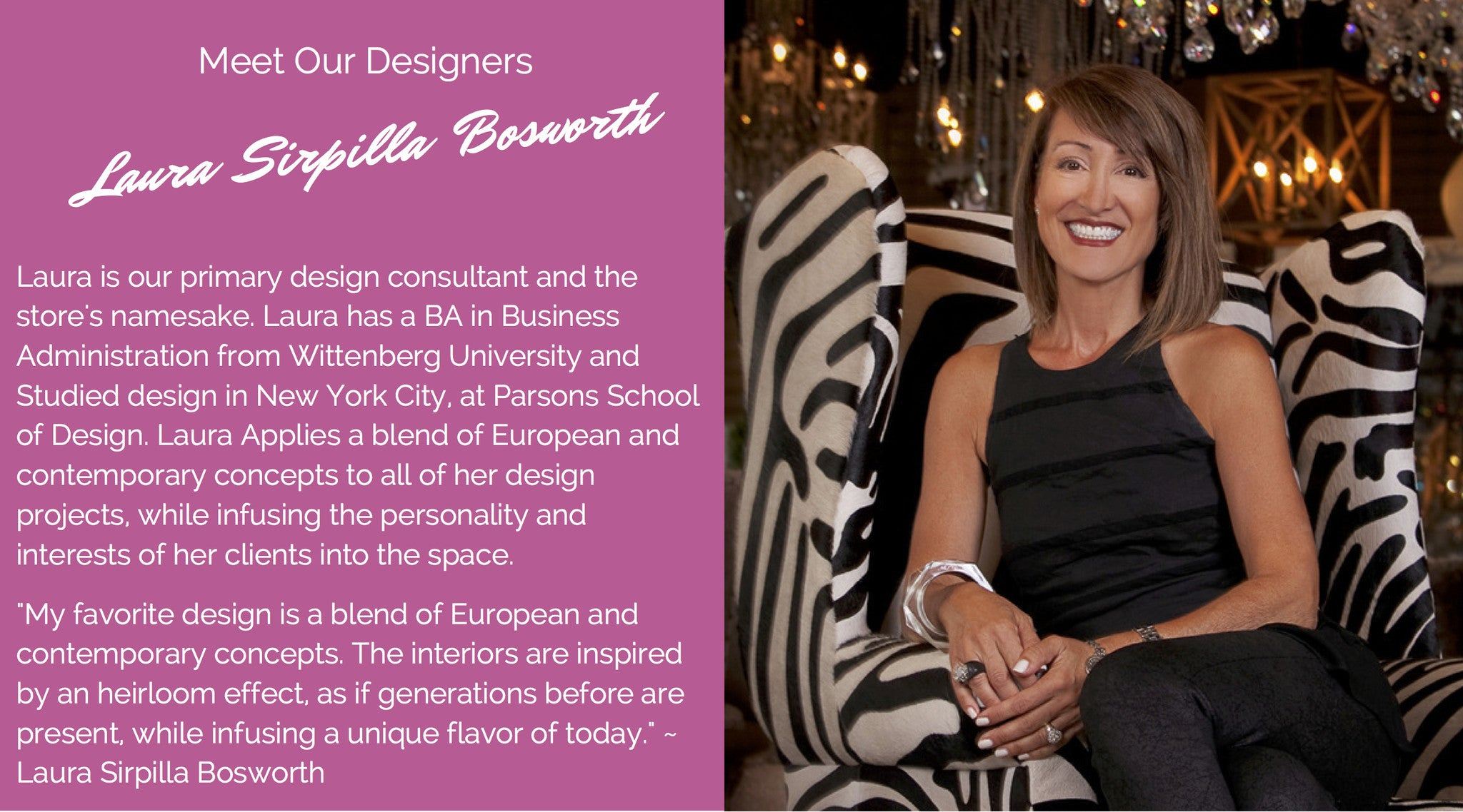 Meet the Designers: Laura