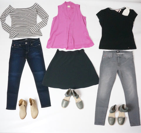 Bailey 44 hudson kjeans kate spade new york eileen fisher shoes spledid booties laura of pembroke fall fashion capsul wardrobe!