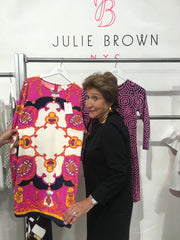 laura of pembroke Julie brown fashion coterie dress