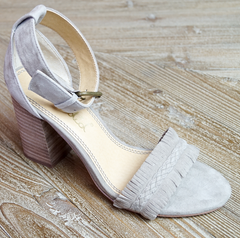 tan suede sandal laura of pembroke party season is here
