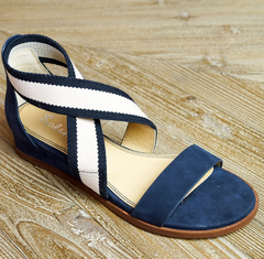 navy sandals laura of pembroke party season is here